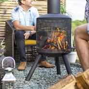 Santana Chimenea Fireplace 3