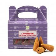 Satya Backflow Dhoop Cones  2 Lavender