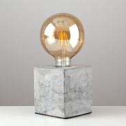 Schofield Cement Table Lamp Base 3 Bulb Sold Separately