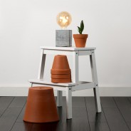 Schofield Cement Table Lamp Base 2 Bulb Sold Separately