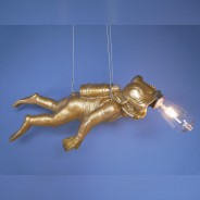 Scuba Steve Hanging Monkey Light 6