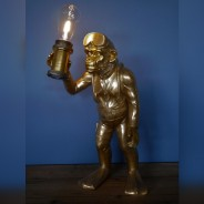 Scuba Steve Monkey Lamp (7450) 5