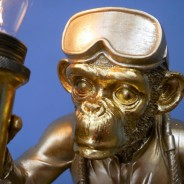 Scuba Steve Monkey Lamp (7450) 4