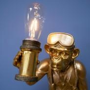 Scuba Steve Monkey Lamp (7450) 3