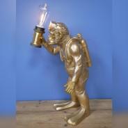 Scuba Steve Monkey Lamp (7450) 6
