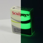 Sculpey Oven Bake Glow in the Dark Clay (Single) 1