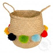 Seagrass Pom Pom Baskets 2