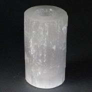 Selenite Candle Holders 6 15cm