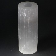 Selenite Candle Holders 9 20cm