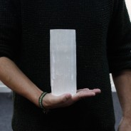 Selenite Candle Holders 10 20cm