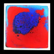 Sensory Floor Tile 5 Red/Blue