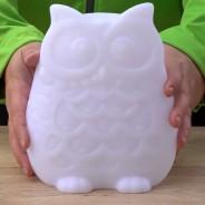 Large Solar Owl Colour Change R/C Moodlight 2