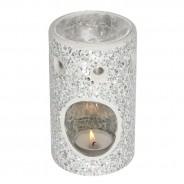 Silver Crackle Oil Burner 3