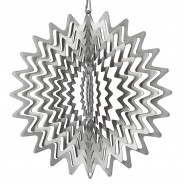 Ray Wind Spinner 5 15cm Silver Ray