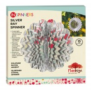 Ray Wind Spinner 12 15cm Silver Ray