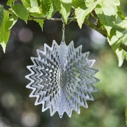 Ray Wind Spinner 2 15cm Silver Ray