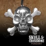 Light Up Skull & Crossbone Pirate Necklace 4
