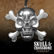 Flashing Skull & Crossbone Pirate Necklace Wholesale 4
