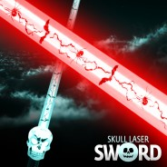 Light Up Skull Sword 3