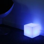 Rechargeable 20cm Mini Cube Lamp 1