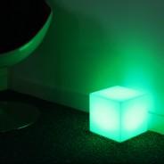 Rechargeable 20cm Mini Cube Lamp 3