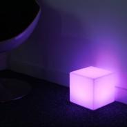 Rechargeable 20cm Mini Cube Lamp 2