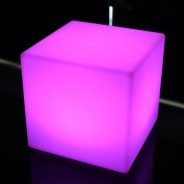 Rechargeable 20cm Mini Cube Lamp 5