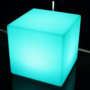 Rechargeable 20cm Mini Cube Lamp 4
