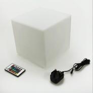 Rechargeable 20cm Mini Cube Lamp 7