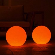 Rechargeable 30cm Globe Light 3