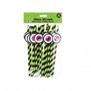 Slime Paper Tableware 5 Slime Paper Straws
