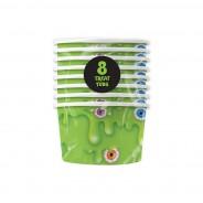 Slime Paper Tableware 8 Slime Treat Tubs