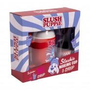 Slush Puppie Making Cup & Red Cherry Set 4