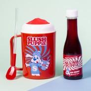 Slush Puppie Making Cup & Red Cherry Set 1