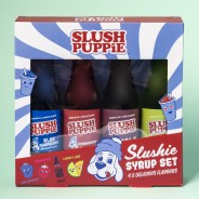 Slush Puppie Syrup Selection 4pk 180ml 2