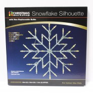 Snowflake Silhouette Light 5