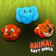Light Up Animal Soft Rings 2