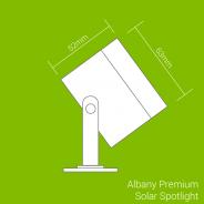 Albany Premium Solar Spotlight 7