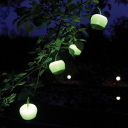 Solar Hanging Apple Light 2