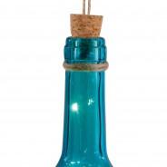 Solar Bottle Light 31cm 7 Blue