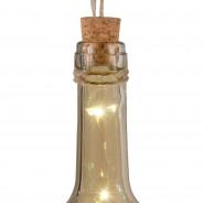 Solar Bottle Light 31cm 8 Smoky Grey
