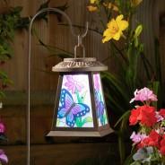 Solar Butterfly Lantern 2
