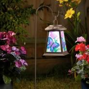 Solar Butterfly Lantern 1