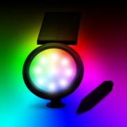 Solar Chiron RGB Spotlight 5