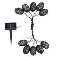 Solar Cool Flickering Flame String Lights 6