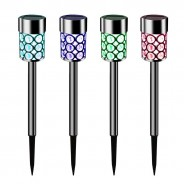 Solar Crystal Stake Lights (4 pack) 2