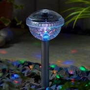 Solar Disco Stake Lights (2 pack) 1