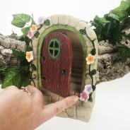 Solar Fairy Door With Steps  6