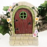 Solar Fairy Door With Steps  3