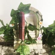 Solar Fairy Door With Steps  4